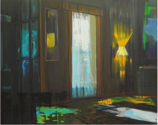 Suite n°7. Huile sur toile – 160 x 200 cm – 2012